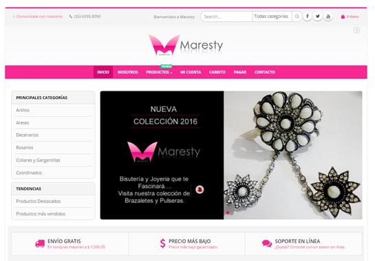 Maresty eCommerce Dypaweb